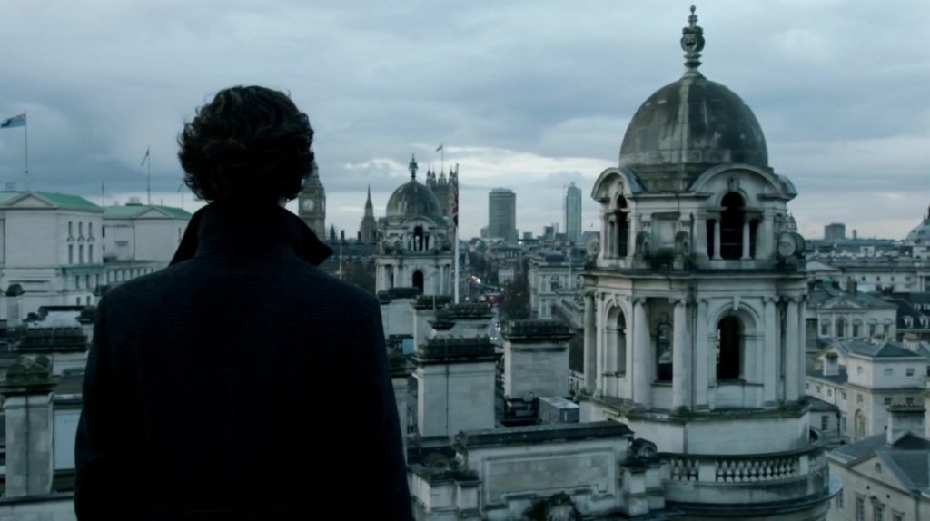 "Sherlock ""Skyfall"" Scene (from The Empty Hearse) (Used with kind permission from Hartswood Films)"
