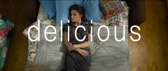 Louise Brealey as Stella in Delicious. (Used with permission.)