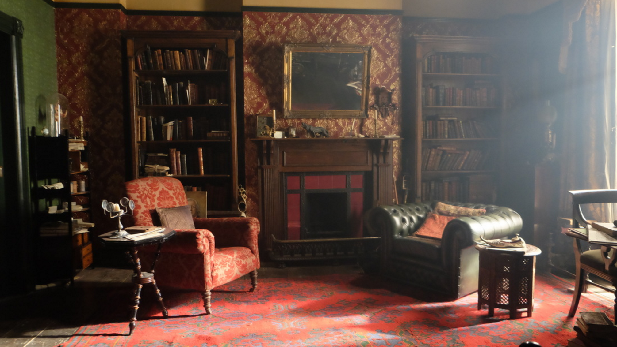 sherlock living room 221b interior www pixshark images galleries with a 10928