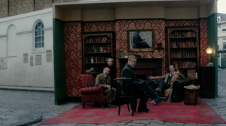 "Sherlock: ""The Abominable Bride"" 221b Baker Street Outdoors"