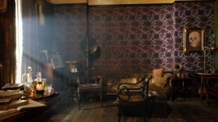 "Sherlock, ""The Abominable Bride"": 221b Baker Street"