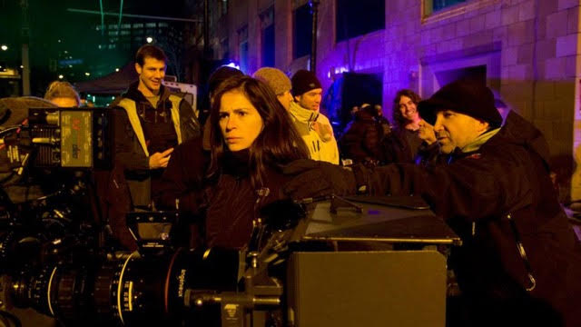 """Lexi Alexander on the set of """"Punisher: War Zone"""""""